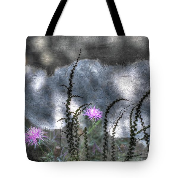 Love And Death Tote Bag