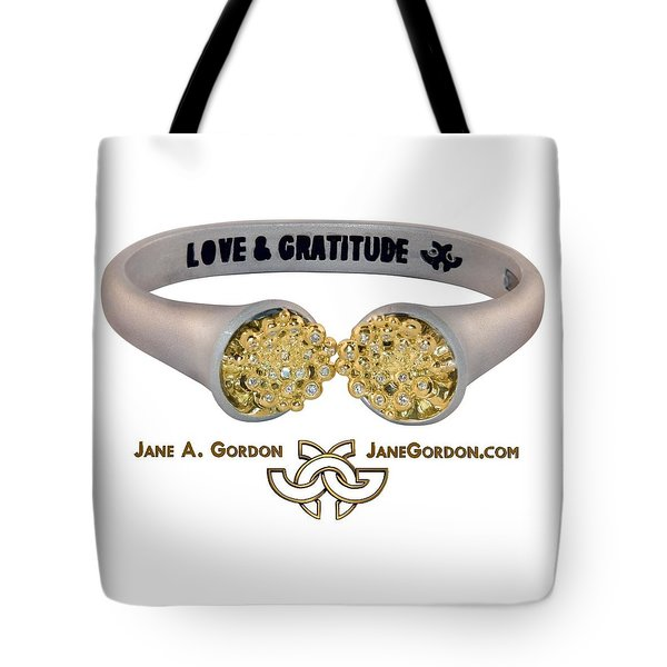 Love And Gratitude Overflowing Diamond Bowls Tote Bag