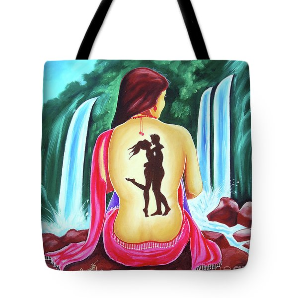 Love And Intimate Tote Bag by Ragunath Venkatraman