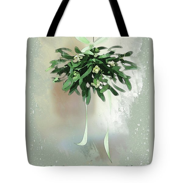Tote Bag featuring the digital art Love And Joy by Gina Harrison