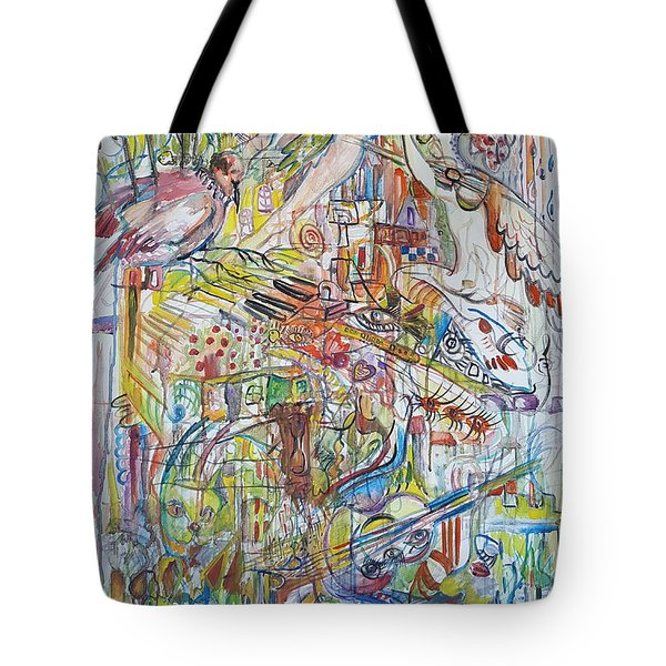Love And Music Tote Bag by Rita Fetisov