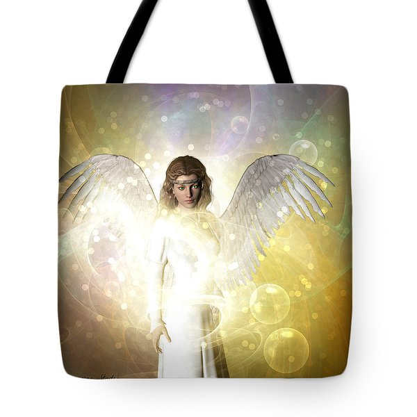 Love And Peace Angel  Tote Bag