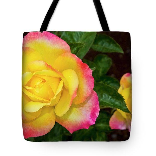 Floral Rose World's Highest Rose Award Winner 2002 Maui Hawaii Tote Bag