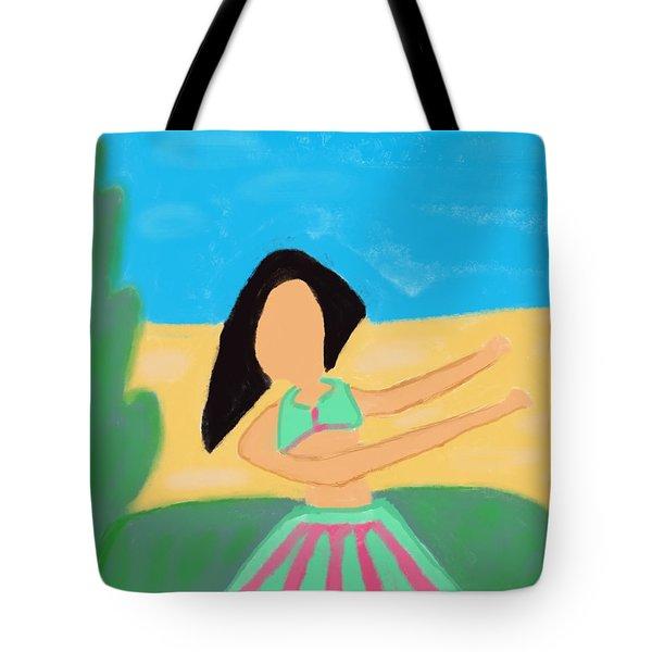Love And Prayers To Hawaii Tote Bag