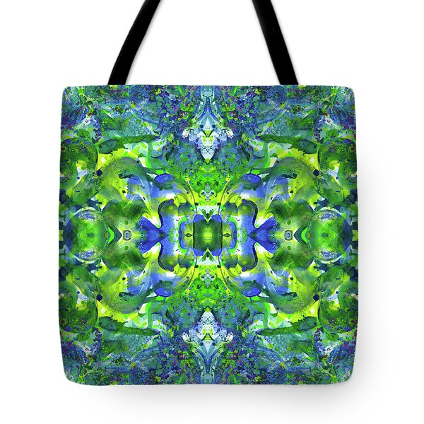 Love And Protect Our Living Gaia #1518 Tote Bag