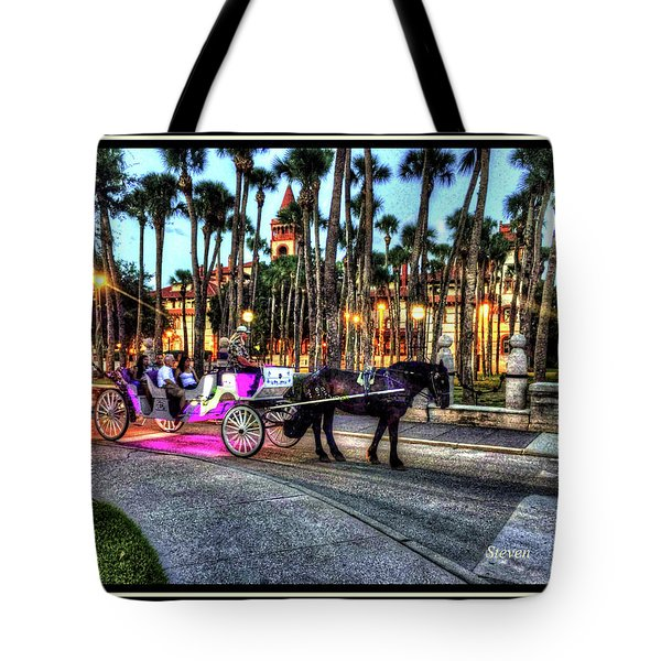 Love And St Augustine Tote Bag