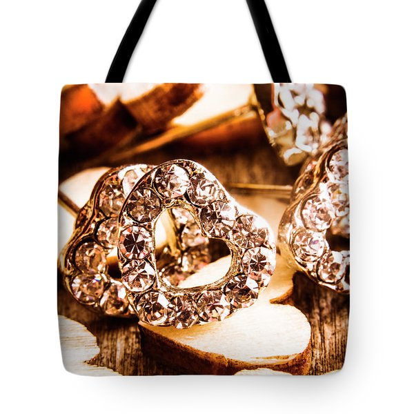 Love And The Jewellery Store Tote Bag