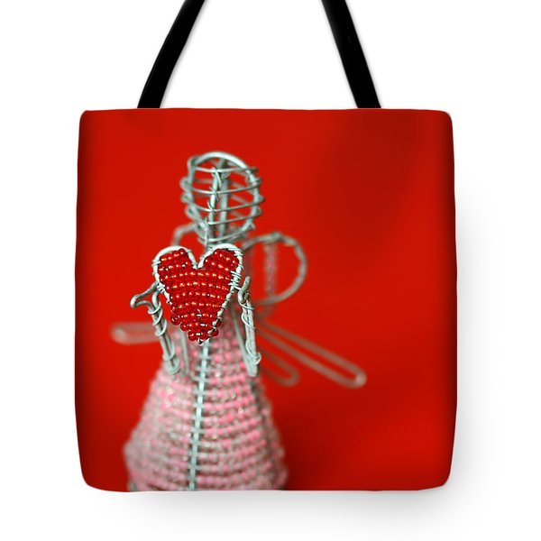 Love Angel Tote Bag by Evelina Kremsdorf