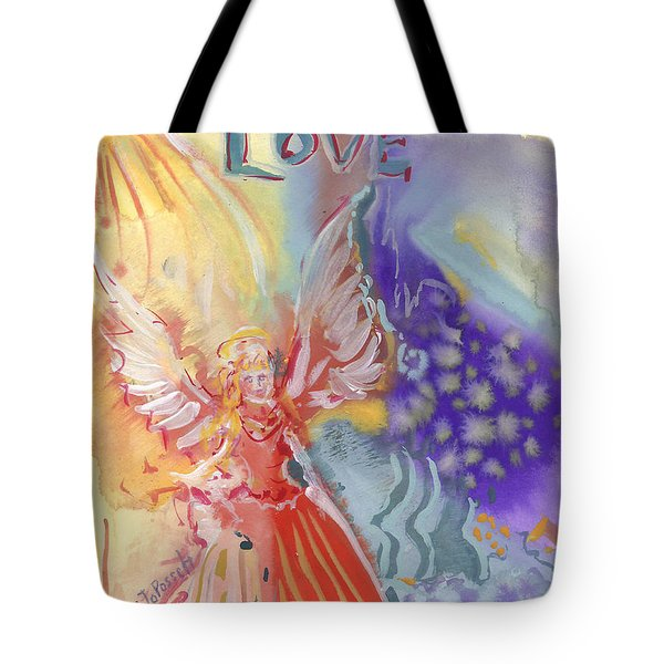Love Angel Tote Bag