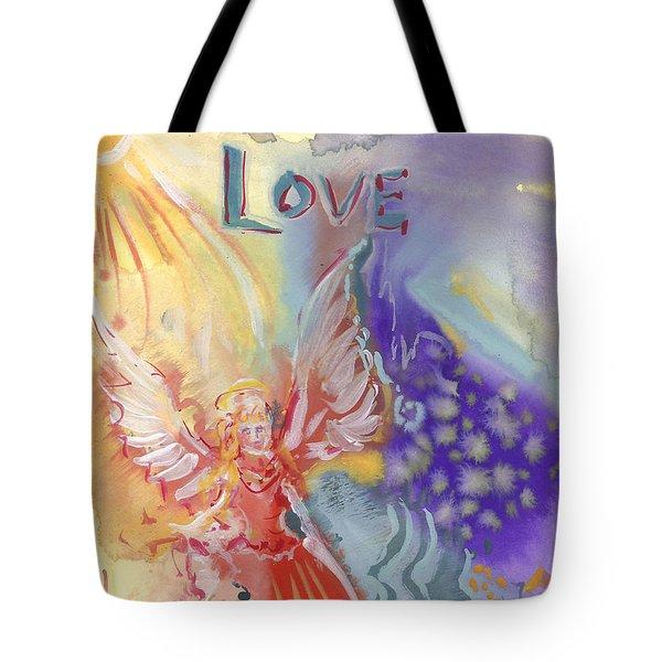 Love Angel Tote Bag