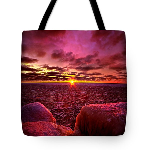 Love At First Light Tote Bag