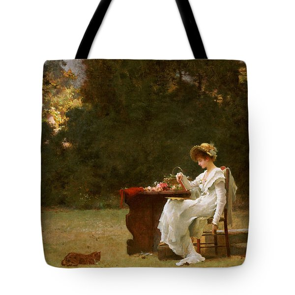 Love At First Sight Tote Bag by Marcus Stone