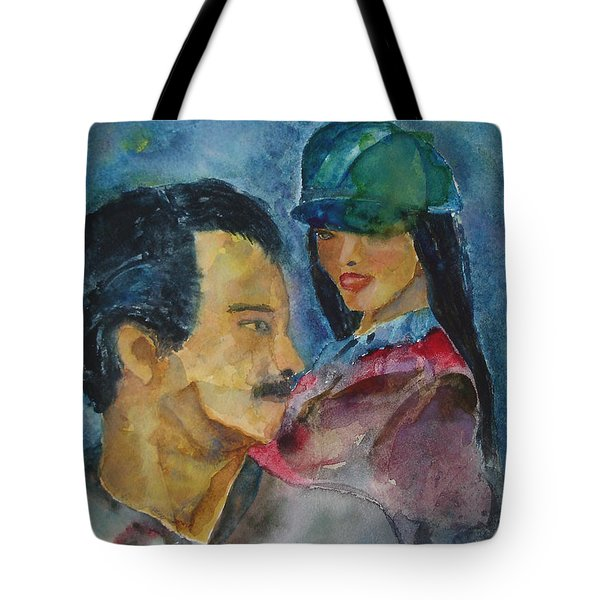 Love At First Sight Tote Bag by Shelley Jones