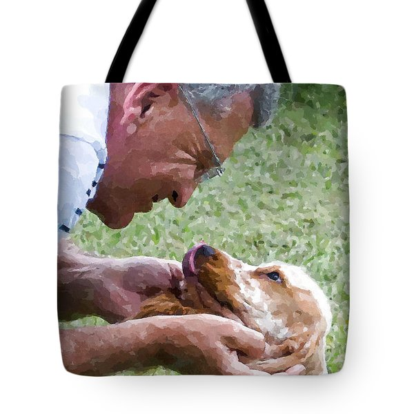 Love At First Sight Tote Bag by Susan Molnar