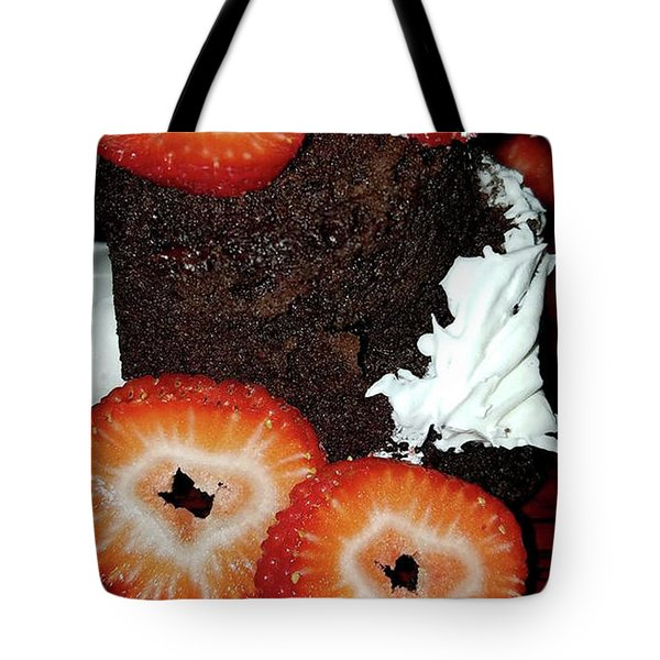 Tote Bag featuring the photograph Love Berry Much by Kelly Reber