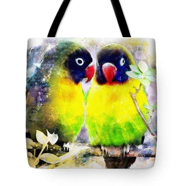 Love Birds2 Tote Bag