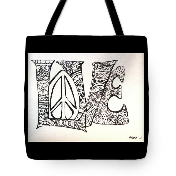 Love Bits Tote Bag