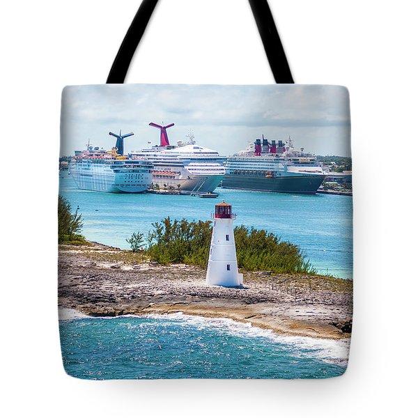 Love Boat Lane Tote Bag