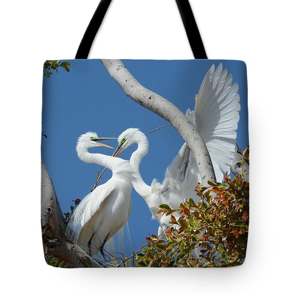 Love Branch Tote Bag