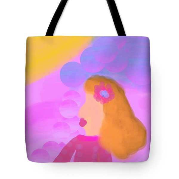 Love Bubbles Tote Bag