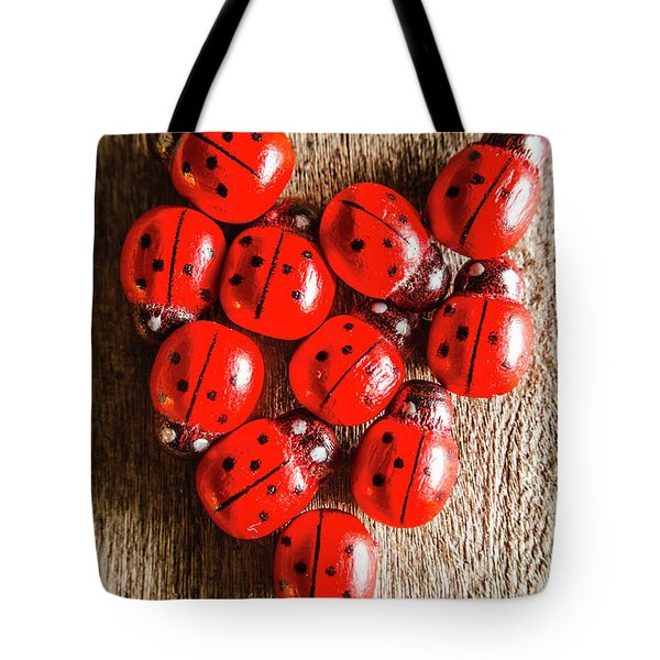 Love Bug Tote Bag by Jorgo Photography - Wall Art Gallery