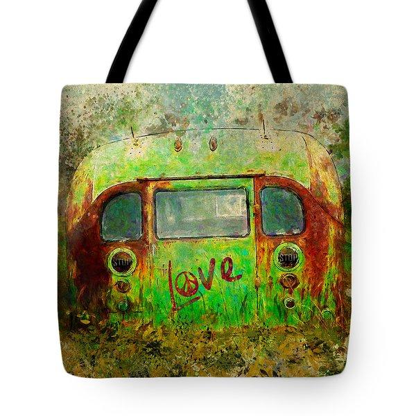 Love Bus Tote Bag