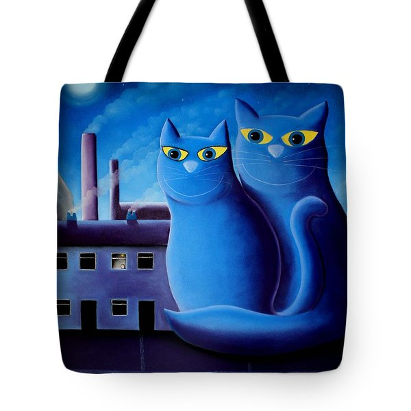Love By The Pale Moonlight Tote Bag by Chris Mackie