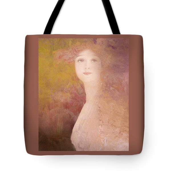 Tote Bag featuring the digital art Love Calls by Jeff Burgess
