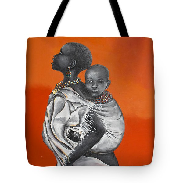 Love Carries Tote Bag