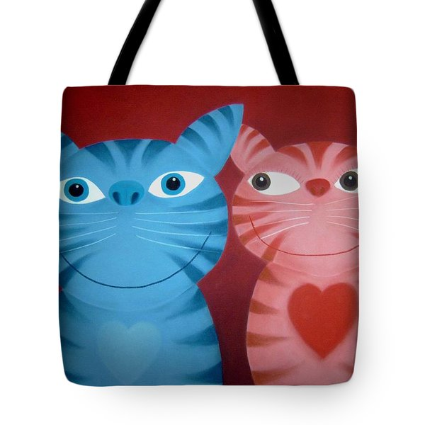 Love Catz Tote Bag