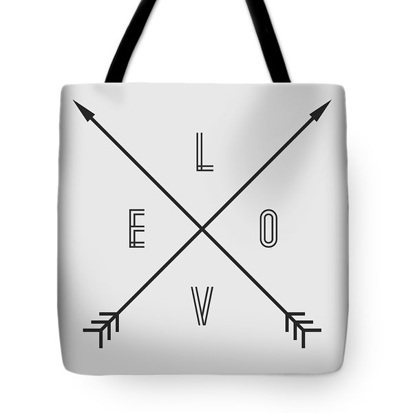 Love Compass Tote Bag by Taylan Apukovska