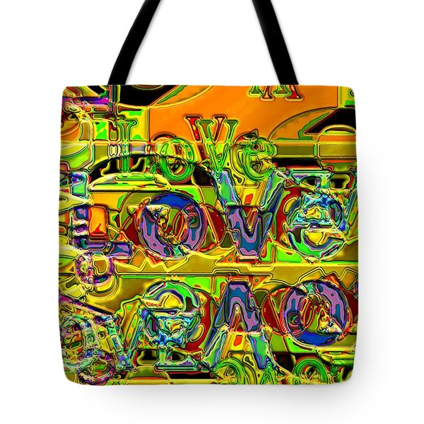 Love Contest Tote Bag by Ron Bissett