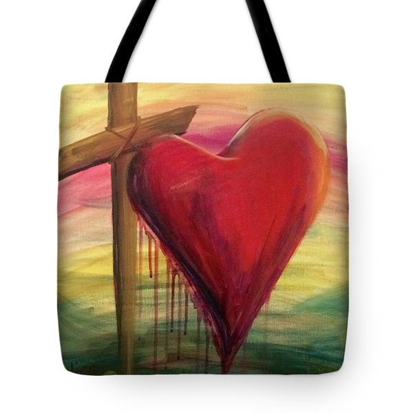 Love Covers A Multitude Tote Bag