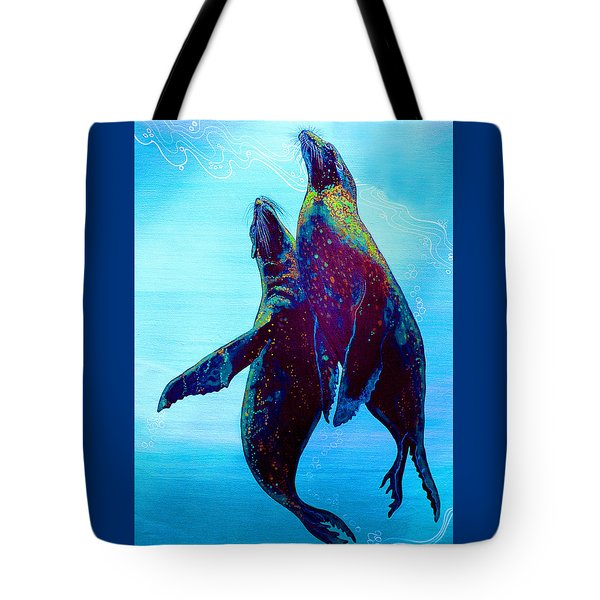 Tote Bag featuring the painting Pure Love by Debbie Chamberlin
