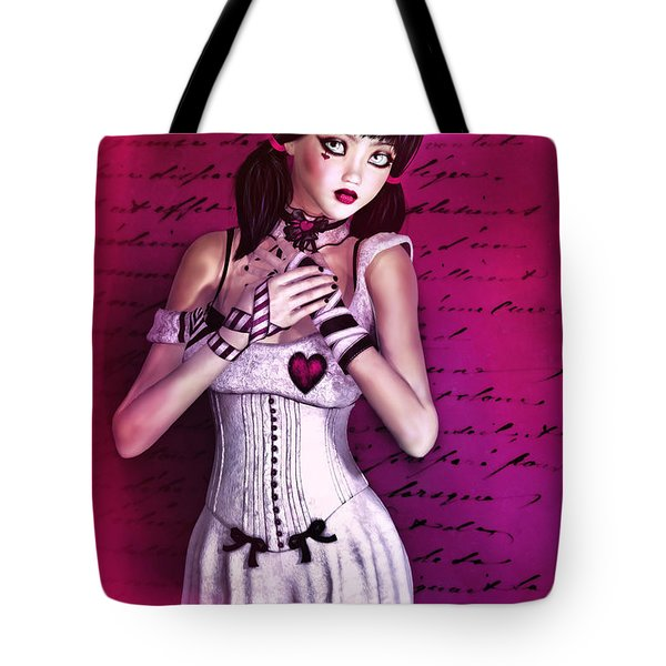 Love Doll Tote Bag