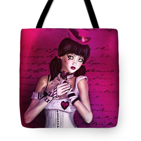 Love Doll Tote Bag