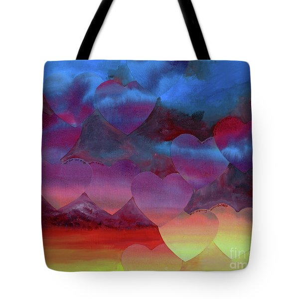 Love Drift Tote Bag by Jeni Bate