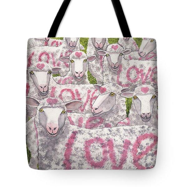 Love Ewes Tote Bag