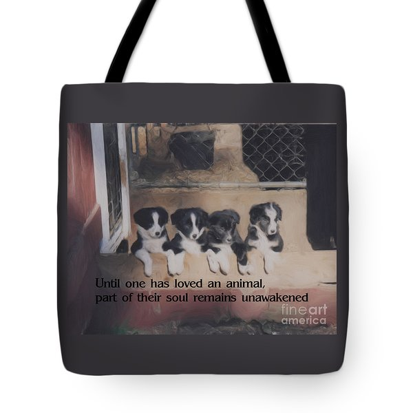 Love For Animals Tote Bag