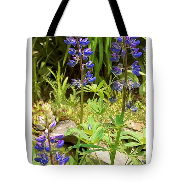 Tote Bag featuring the photograph Love Garden by R Thomas Berner