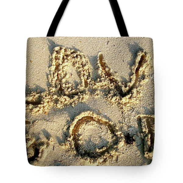 Love God Tote Bag