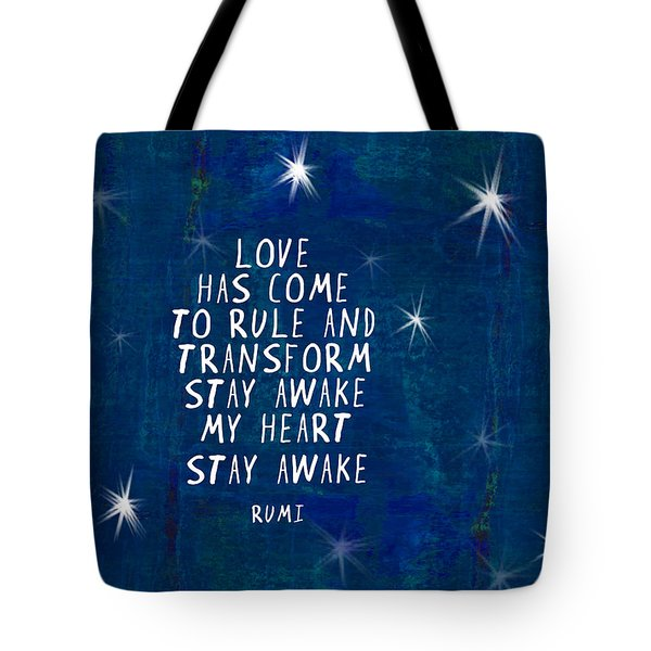 Love Has Come Tote Bag