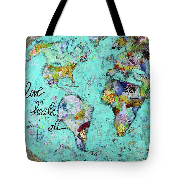 Love Heals All Tote Bag