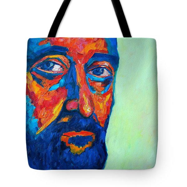 Tote Bag featuring the painting Love Him So Much by Ana Maria Edulescu