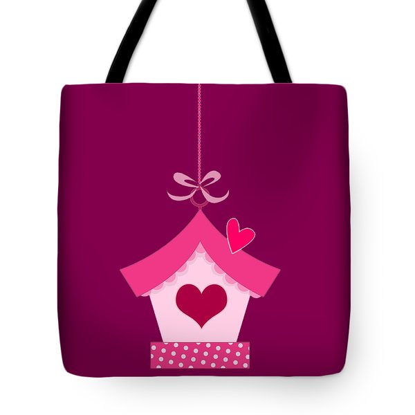 Love House T-shirt Tote Bag