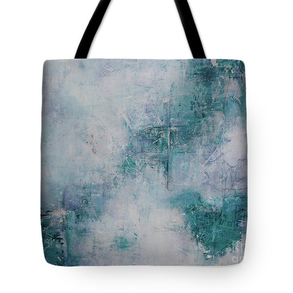 Love In Negative Spaces Tote Bag