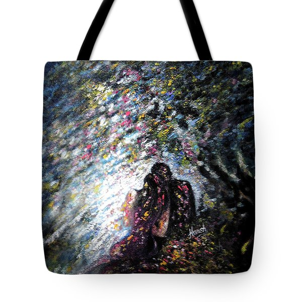 Love In Niagara Fall Tote Bag