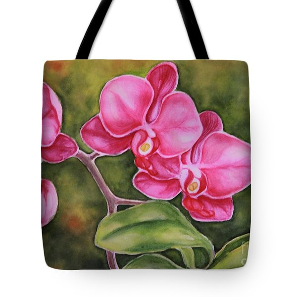 Love In Pink Tote Bag by Inese Poga
