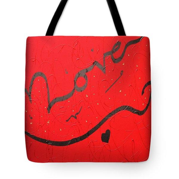Love In Red By Faraz Tote Bag