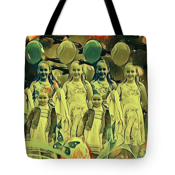 Love In The Age Of War Tote Bag